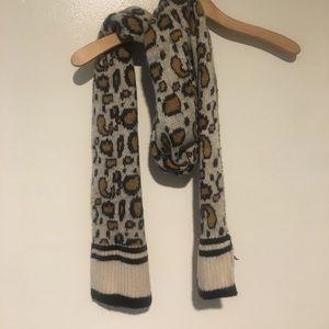 NWT Leopard Print Mossimo Scarf